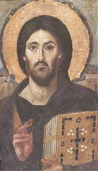 Byzantine Image of the Christ