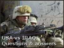 USA vs IRAQ - Questions and answers